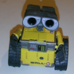 Disney Pixar WALL.E walle Action figure approx 5 inch very nice Thinkway Toys